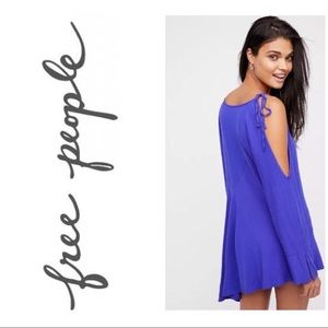 Free People Clear Skies Violet Tunic XS